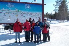 Rovaniemi: návštěva na polárním kruhu