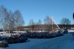 Rovaniemi: trochu jiné parkoviště