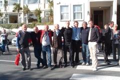 Dublin - český tým v civilu