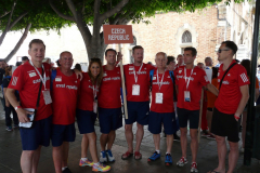 Malaga - nástup